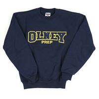 Oprep Twill Sweatshirt by Embroidery Express, Style: 4017