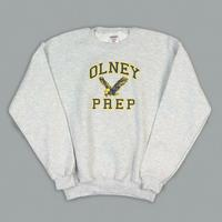 Oprep Sweatshirt W/ Logo by Embroidery Express, Style: 4014