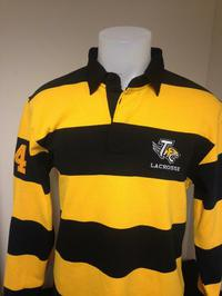 Rugby Shirt W/ Left Chest by Embroidery Express, Style: T004